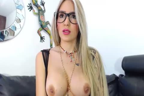 Glasses, Tattoo And large cock