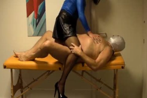concupiscent Crossdresser Lisa loves engulfing shlong while Her wazoo Is Finger boned