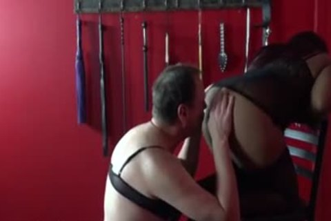 serf Can Barely Take massive thong On