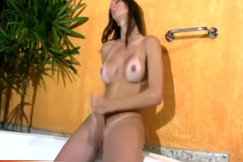 FULL video Of skinny TS Beauty Stroking pantoons And Shecock