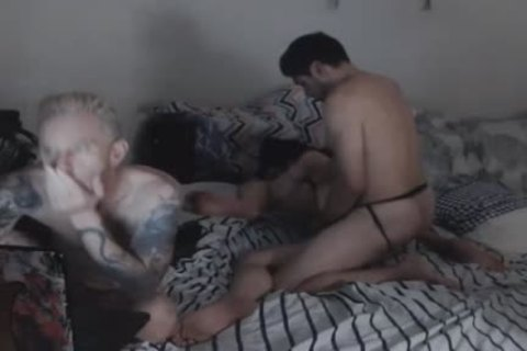 dirty tgirl Got sexy take up with the tongue On Her Balls And butthole