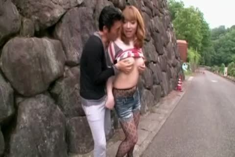 amazing Japanese Model In Hottest teen bones, Outdoor JAV video