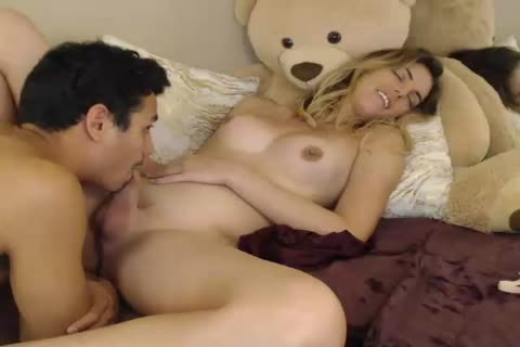 young couple webcam brutaly