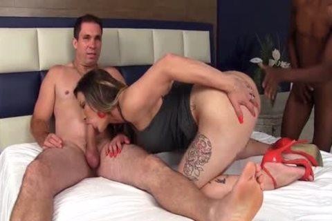 t-girl hoe Amanda Ferraz acquires Double Stuffed