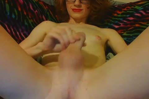 Redhead ladyboy likes To have a joy Her Body