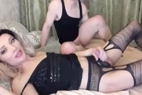 lucky lad anal pounding Russian Glasses shemale