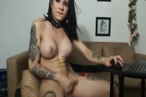 TS Live Sex Shows Jerking Shows 129