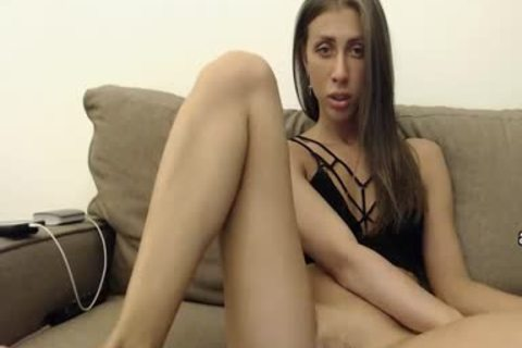 lusty Russian Femboy Shows His booty And Masturbates
