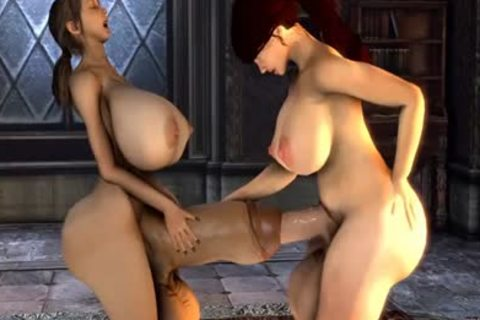 3d Futa dick Into dick Collection