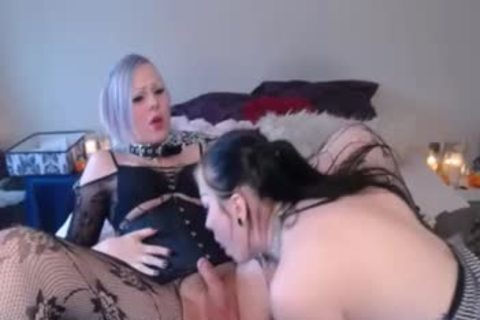 Sarina Havok & Robin Coffins TG GG web camera Show Pt.1