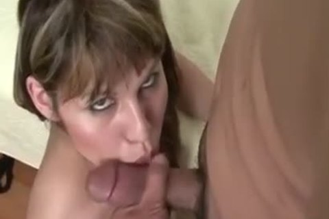 receive A oral sex job From A Leggy lady-man slut