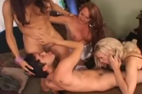Foursome orgy groupbang