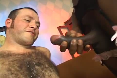 yummy homosexual stud driled By ebony shemale