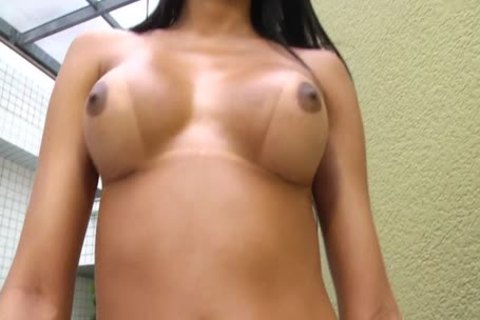 Camila Klein Is A ladyboy With A large wazoo