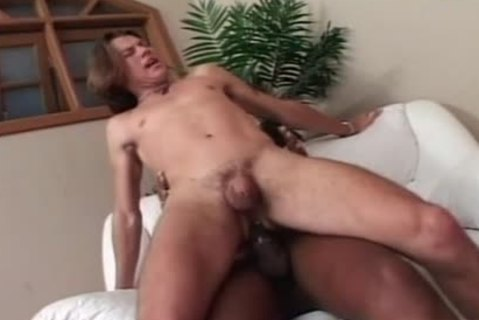 Painful butthole From A large darksome sheboy cock